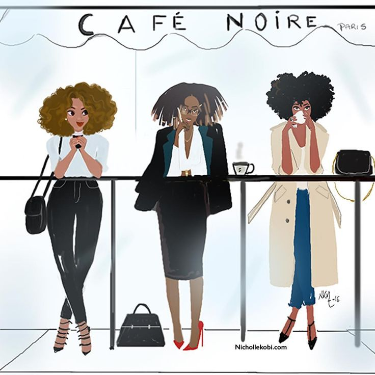 African Happy Artwork American Monday