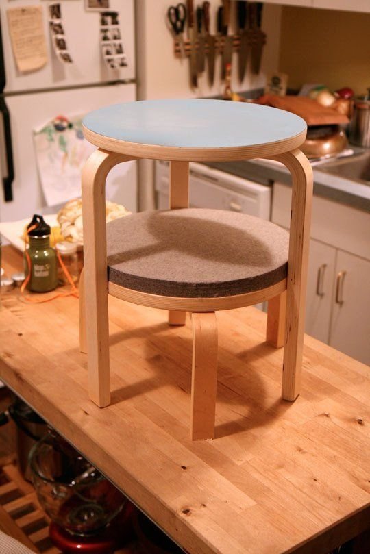 How To Make A Great Side Table From Ikea Frosta Stools