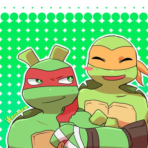 Tmnt Mikey And Raph Cute
