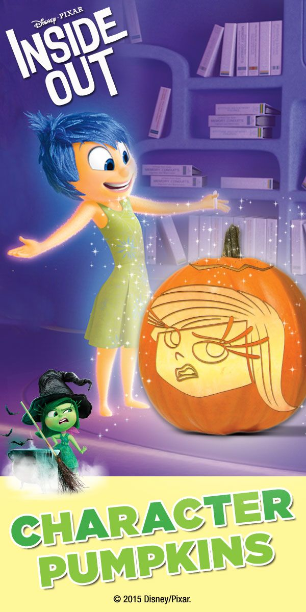 Fear Inside Out Pumpkins