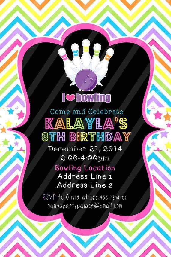 Bday Party Invitation