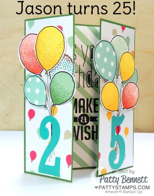 Printable 25th Birthday Cards