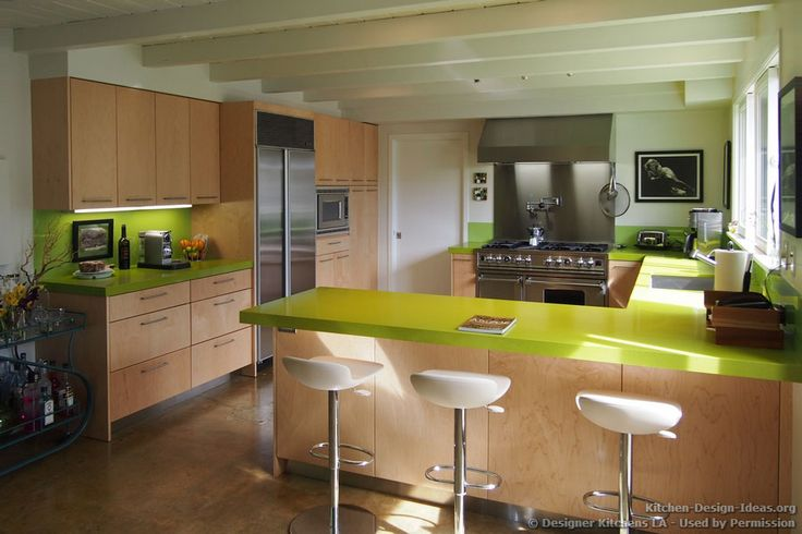 Modern Kitchen Design Bar