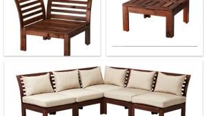 Ikea APPLARO Furniture Balcony Deck Ideas Pinterest