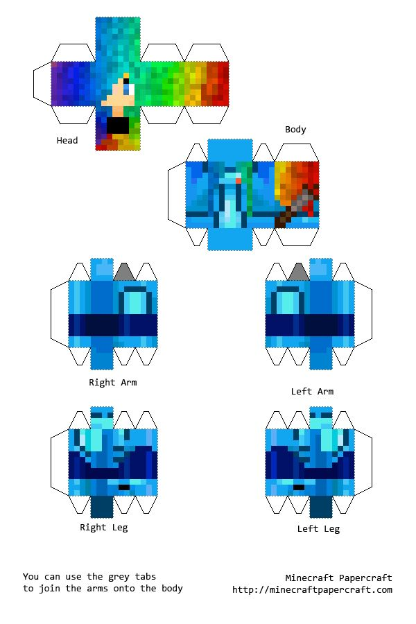 Sea Girl Minecraft Skins