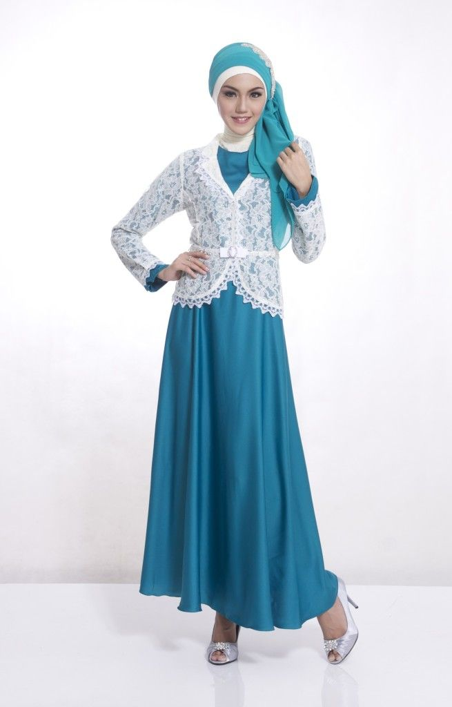 Image Result For Model Gamis Brokat Simple Tapi Elegan