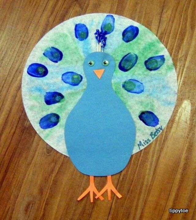 Color Blue Crafts Toddlers