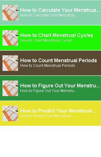 25+ best ideas about Menstrual Cycle Calculator on ...