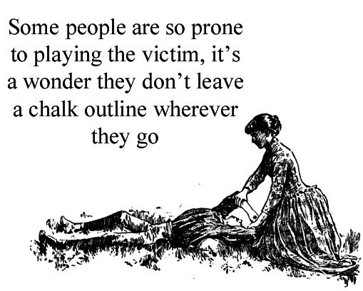 Playing Victim Quotes
