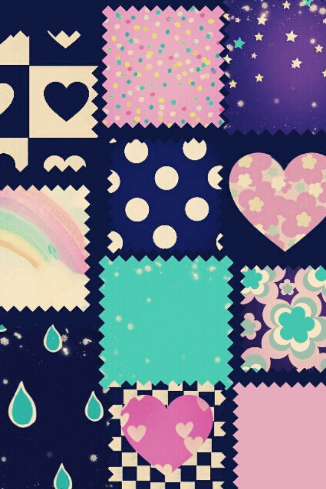 Love Pattern Cute Girly HD Wallpaper for iPhone 6.   Girly ...