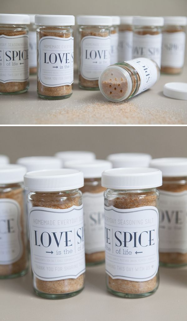 Cheap And Easy Wedding Favors