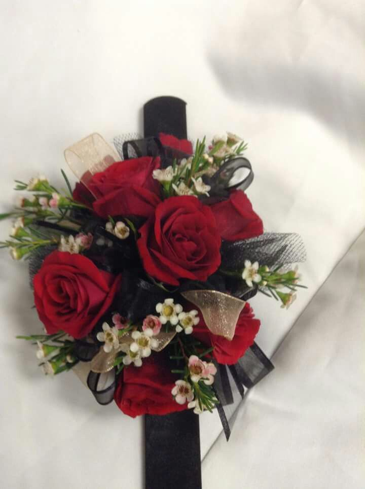 Black And White Corsages 2013