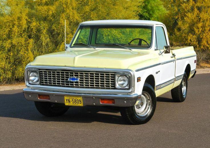 17 Rims 1972 Chevy Pickup