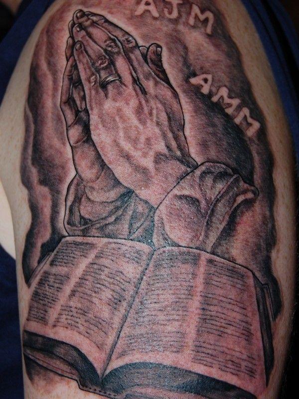 Tattoo Praying Hands Gang