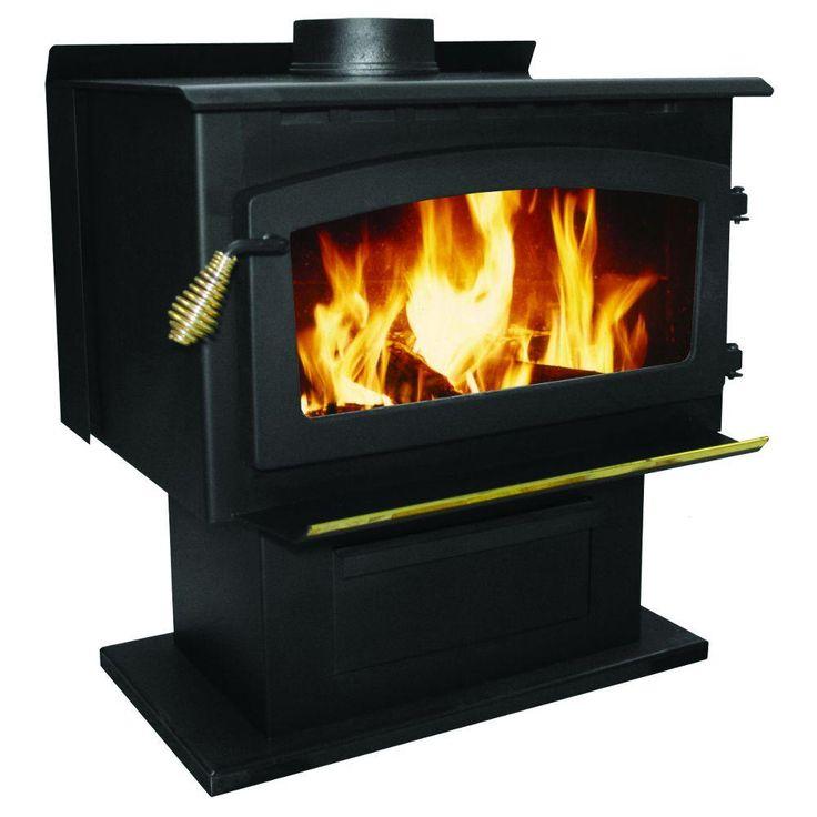 Wood Fan Insert Fireplace Blower Burning