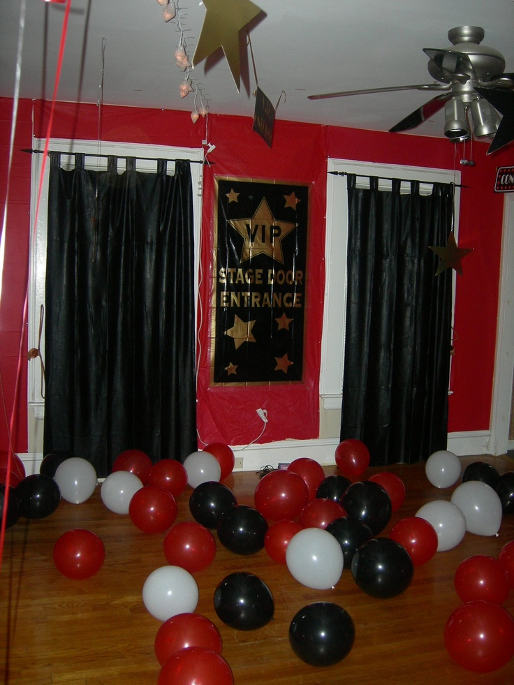 Hollywood Girls Theme Party
