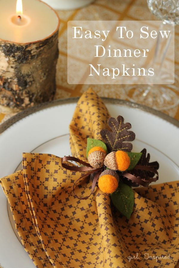 Christmas Napkin Rings Diy