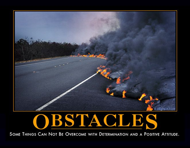 Obstacles Meme Overcoming