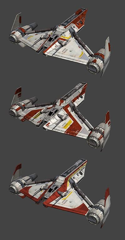 Gunship Wars Star Republic Blueprints