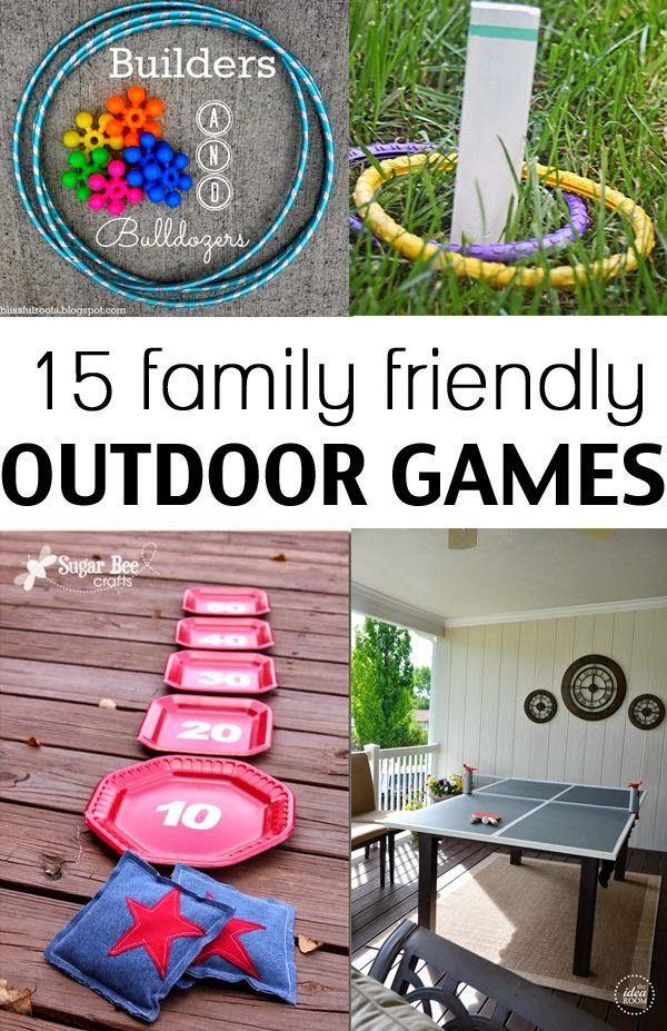 Fun Outdoor Summer Games Kids