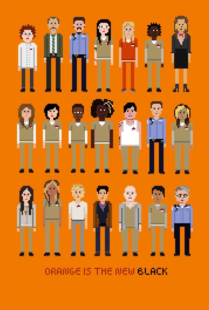 Crazy Eyes Orange New Black Cast
