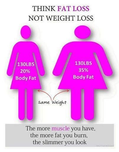 Vs Muscle Weight Losing Gaining