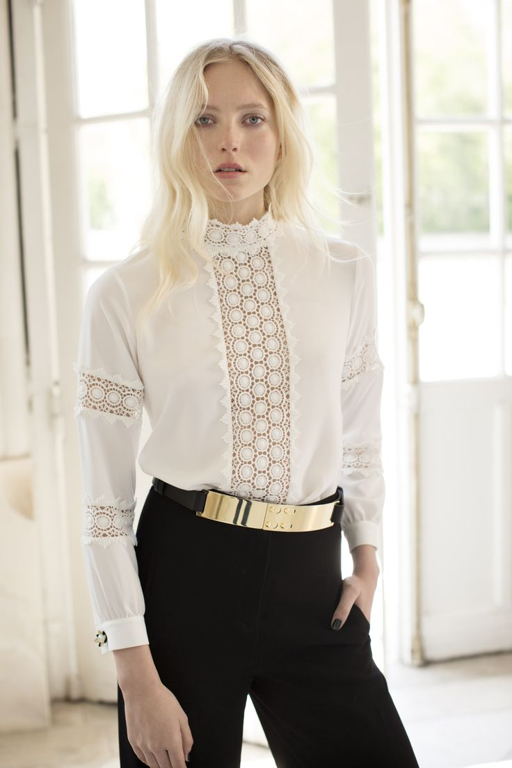 78 best images about Beautiful Blouses on Pinterest ...