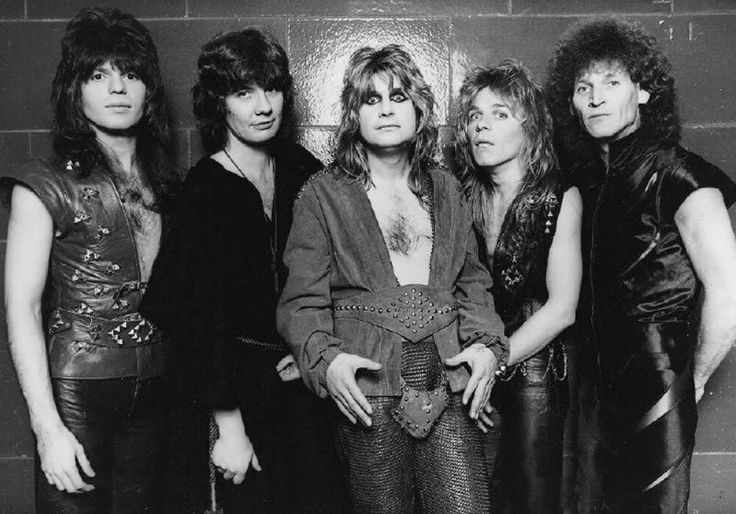 Ozzy Osbourne Who Was Bands