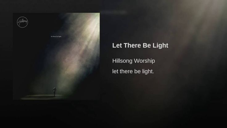 Be Hillsong Tour There Let Light