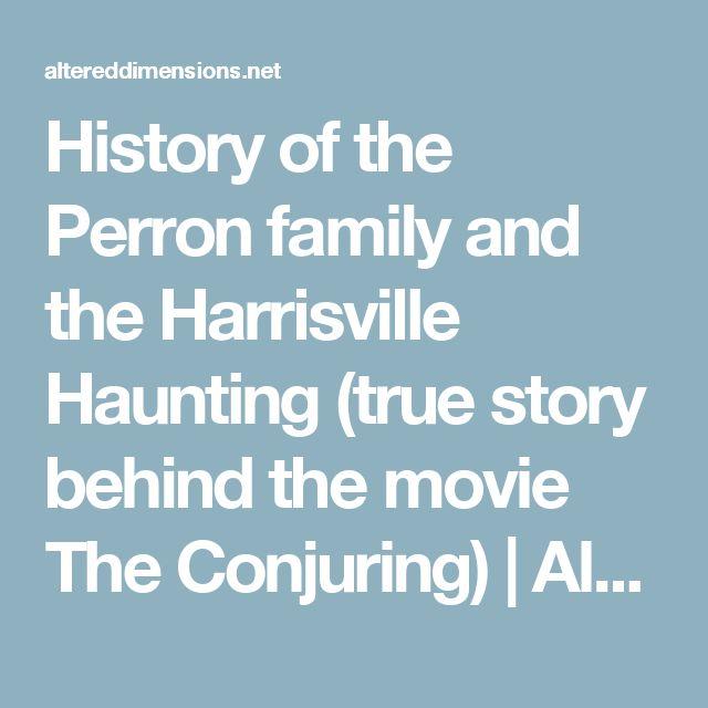 Perron Family Haunting True Story