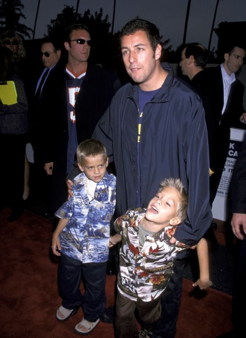 Adam Sandler And Cole Sprouse