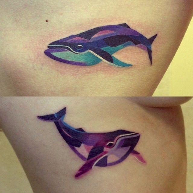 Killer Whale Tattoos Back