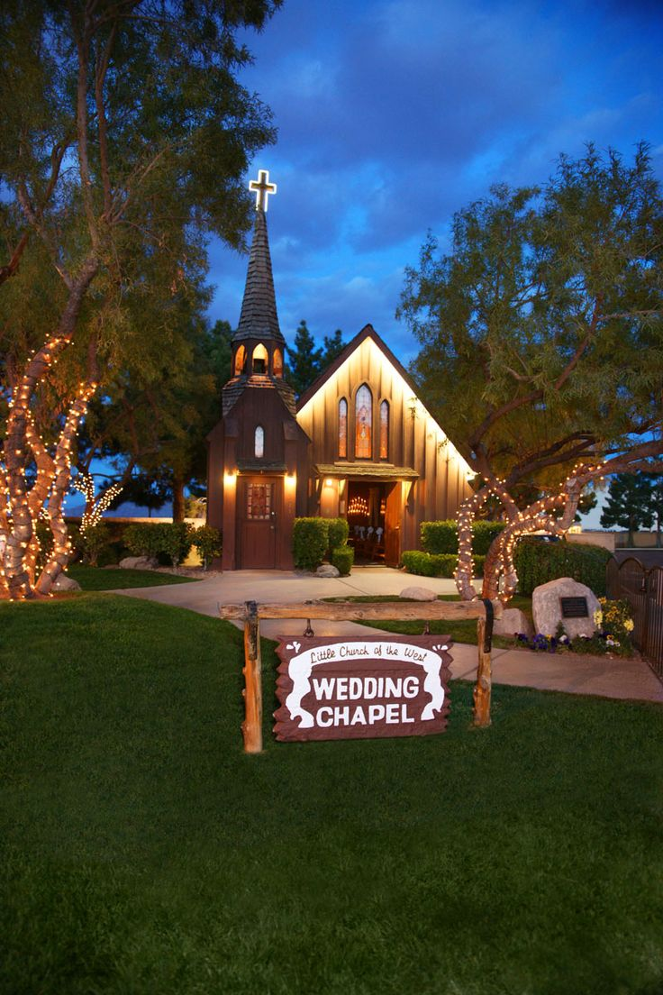 Cheap Las Vegas Wedding Chapel Packages