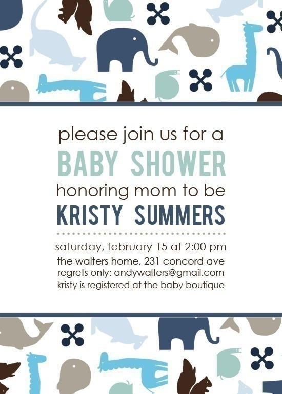 Baby Shower Invitations Facebook