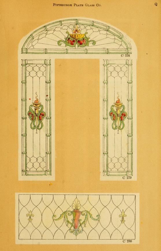 Printable Dollhouse Window Frames Outlines