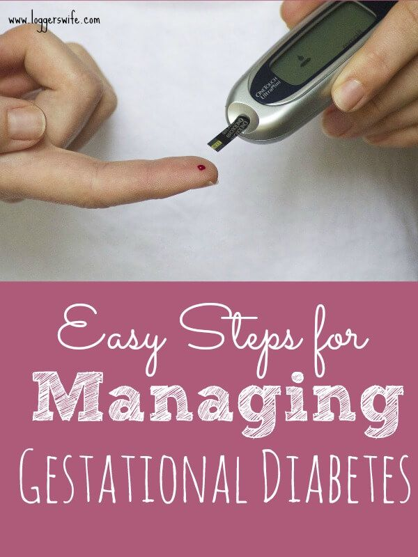 Eating Out Gestational Diabetes