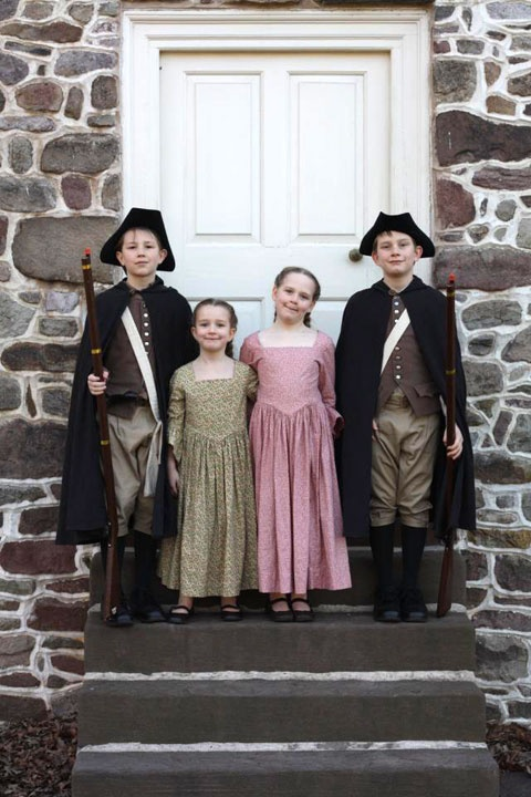 Life Colonial America Family