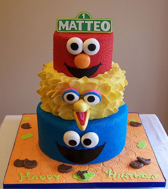 200 Best Images About Sesame Street Cakes And On