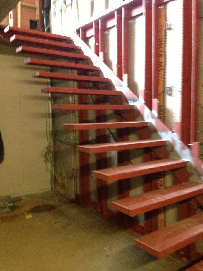 Modern Interior Metal Railings Stairs