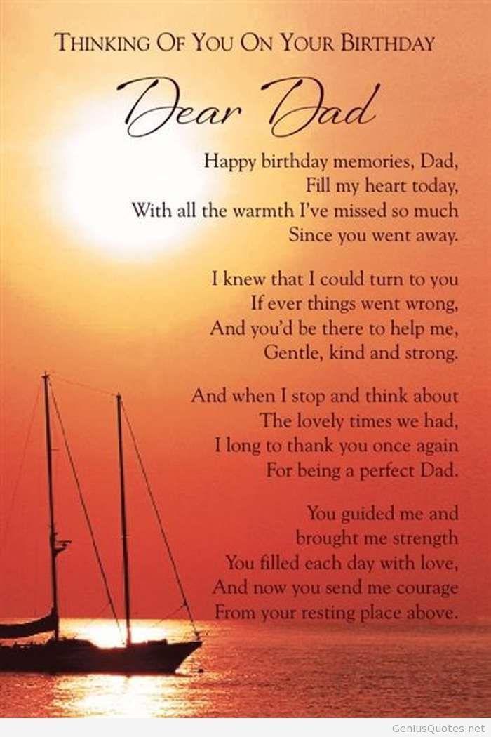 Heaven Happy Birthday Dad
