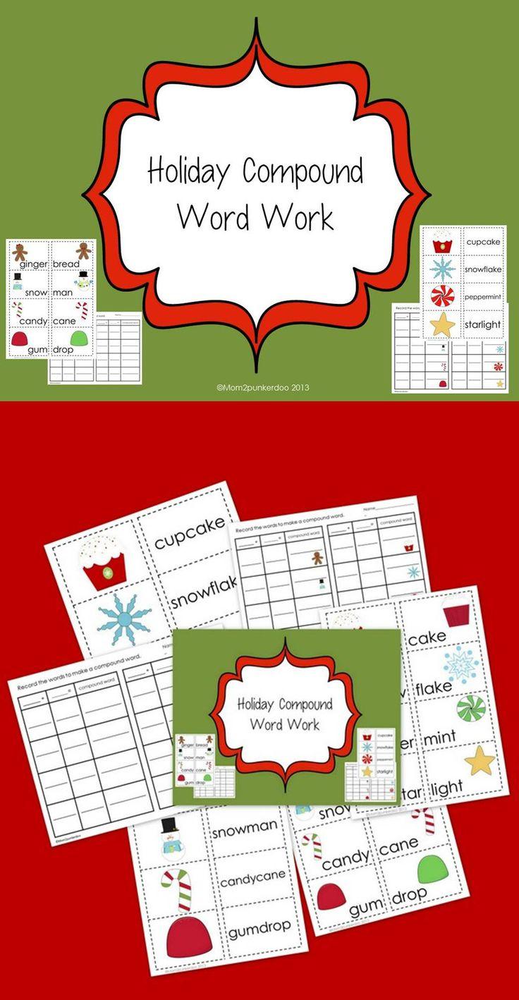 Words Gingerbread Kindergarten
