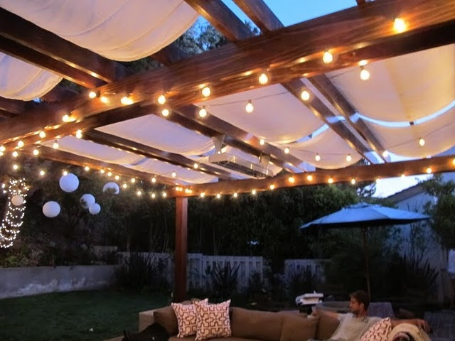 Outdoor Deck String Lighting