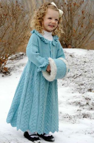 Long Coat Crochet Pattern