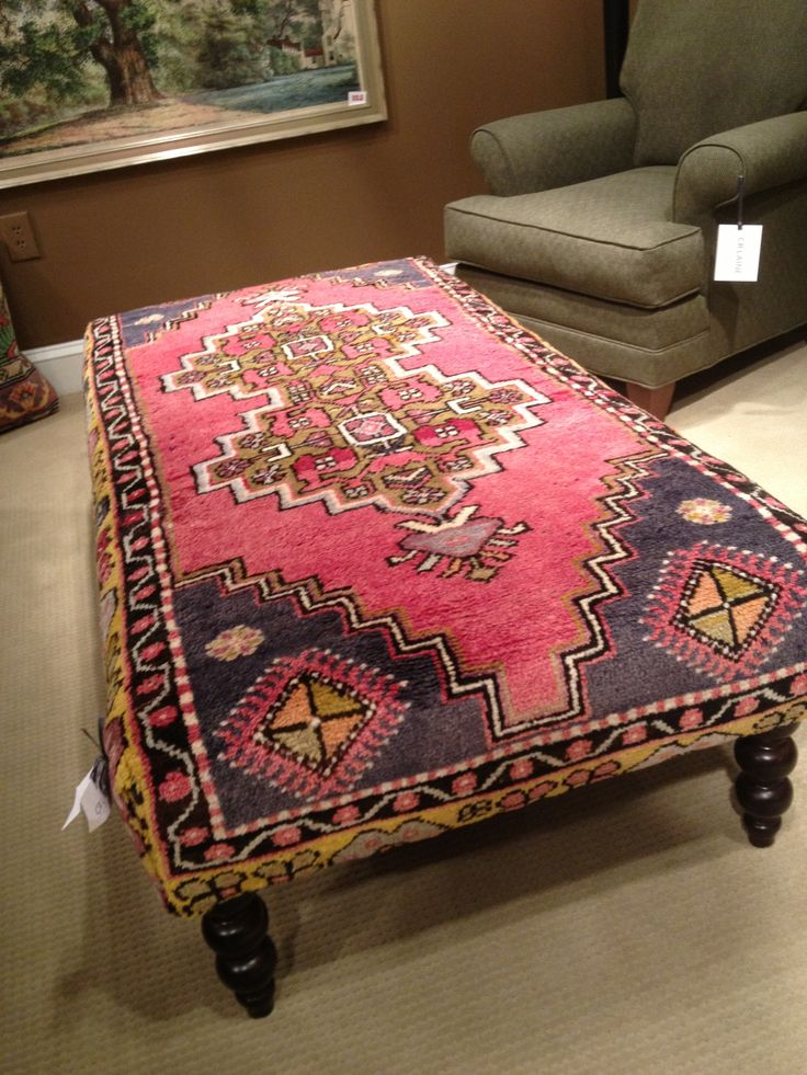 Ottoman Stools Coffee Table