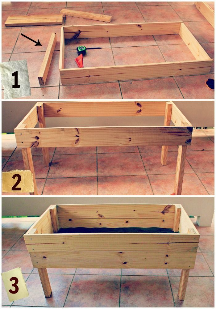 How Build Vegetable Garden Box Deck