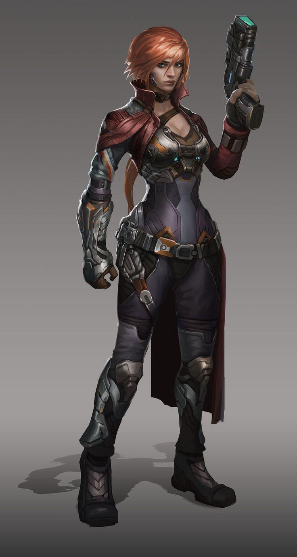 Armor Hunter Girl Demon