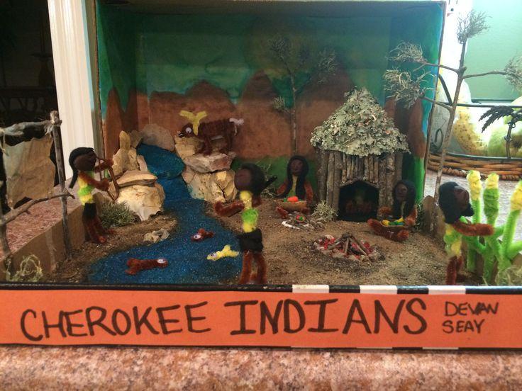 Cherokee Native Homes Indian