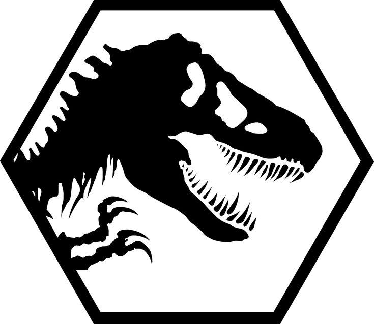 T Rex Dinosaur Cake Template