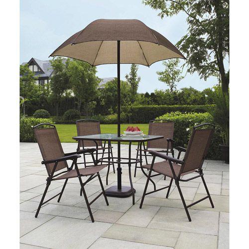 Patio Table Set Umbrella