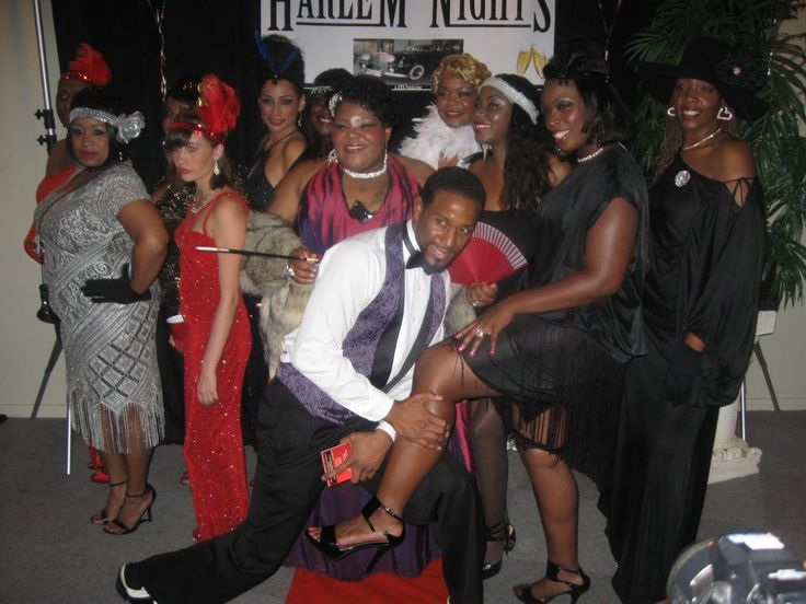 Harlem Theme Outfits Nights Party